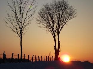 25 marca 2013 – wschód słońca – okolice Stawisk